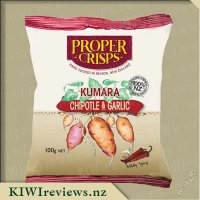 Product image for Proper Crisps - Chipotle & Garlic Kumara Crisps