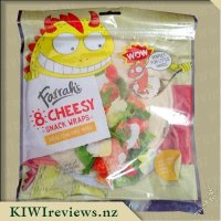 Product image for Farrah's Wraps - Cheesy snack wraps