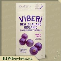 ViBERi Freeze-Dried Organic Blackcurrants