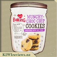 I Love Baking - Munchy Choc Chip Cookies