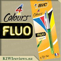 BIC 4 Colour Fluo Ballpoint Pen