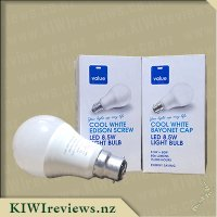 Value Brand LED Bulbs - Cool White