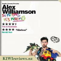 Product image for Alex Williamson Live Comedy Show - So Wrong, It's Wrong!