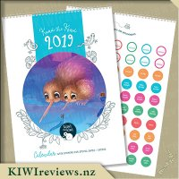Kuwi the Kiwi - 2019 Wall Calendar