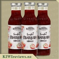 Barkers Sundae Strawberry Sauce