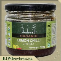 Product image for Down to Earth Organic Chutney - Lemon Chilli