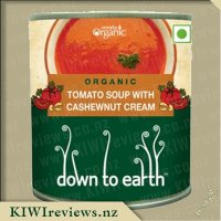 Down to Earth Organic Soup - Tomato with Cashewnut Cream